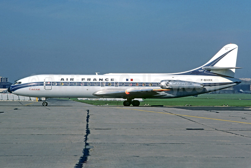 Air France Sud SE.210 Caravelle 3 F-BHRK (msn 26) LBG (Christian Volpati). Image: 923342.