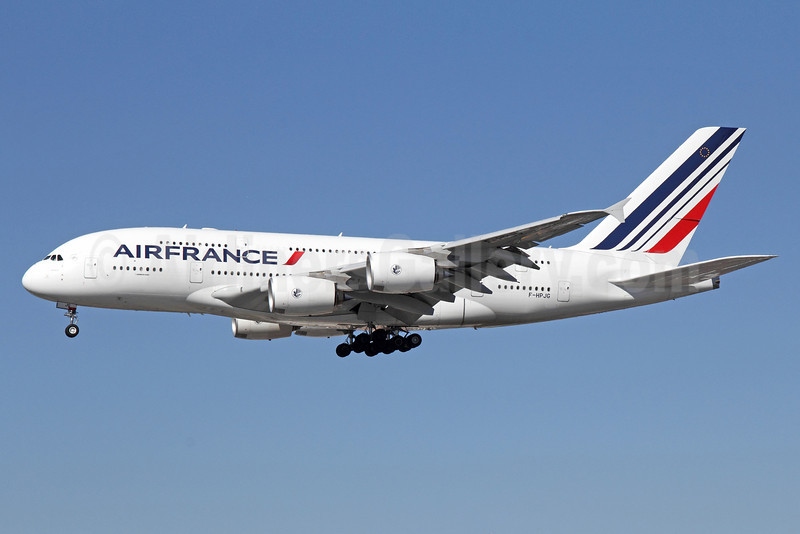 Air France Airbus A380-861 F-HPJG (msn 067) LAX (Michael B. Ing). Image: 910863.