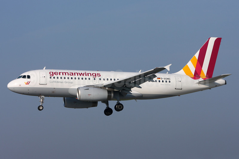 Germanwings (2nd) Airbus A319-132 D-AGWG (msn 3193) ZRH (Andi Hiltl). Image: 912677.