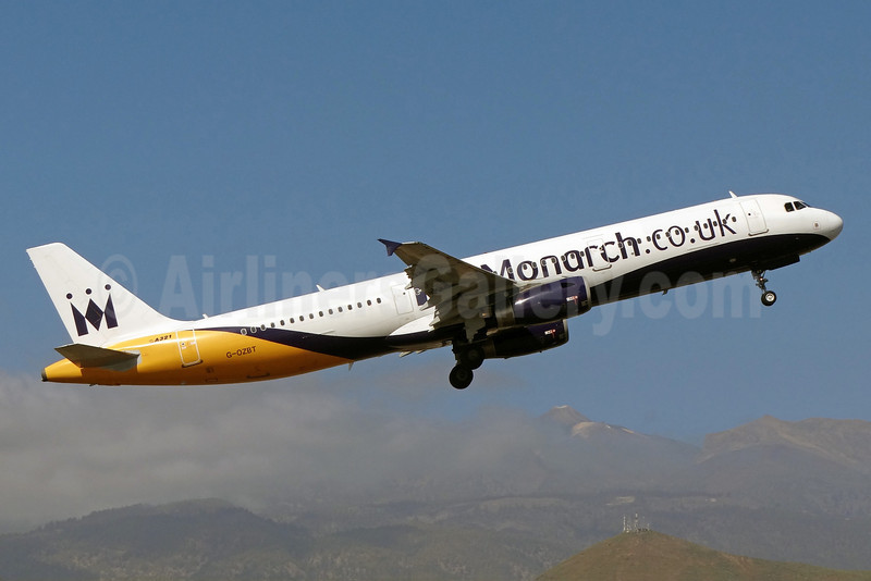 Monarch Airlines (Monarch.co.uk) Airbus A321-231 G-OZBT (msn 3546) TFS (Paul Bannwarth). Image: 922383.