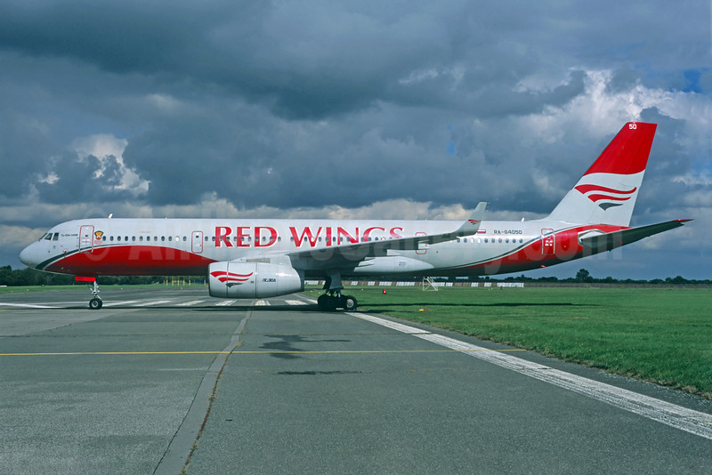 Red Wings Airlines Tupolev Tu-204-100B RA-64050 (msn 1450741964050) PRG (Jacques Guillem Collection). Image: 923643.