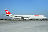 Swiss International Air Lines Airbus A340-313X HB-JMD (msn 556) LAX (Ton Jochems). Image: 921549.