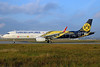 The first Airbus A321 in the Borussia Dortmund livery