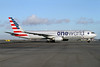 First American 767-300 painted in the new Oneworld livery