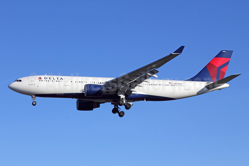 Delta Air Lines Airbus A330-223 N858NW (msn 718) LAX (Michael B. Ing). Image: 910733.