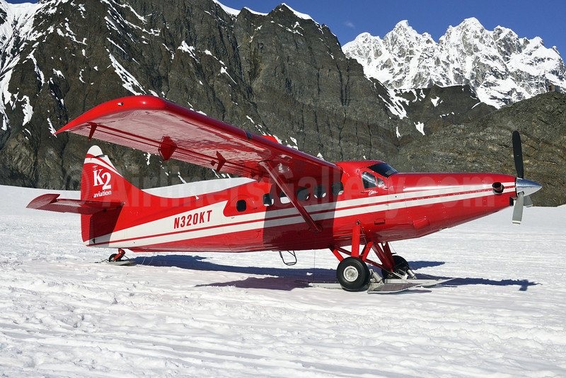 K2 Aviation de Havilland Canada DHC-3T Turbo Beaver N320KT (msn 73) Denali National Park (Steve Bailey). Image: 923862.