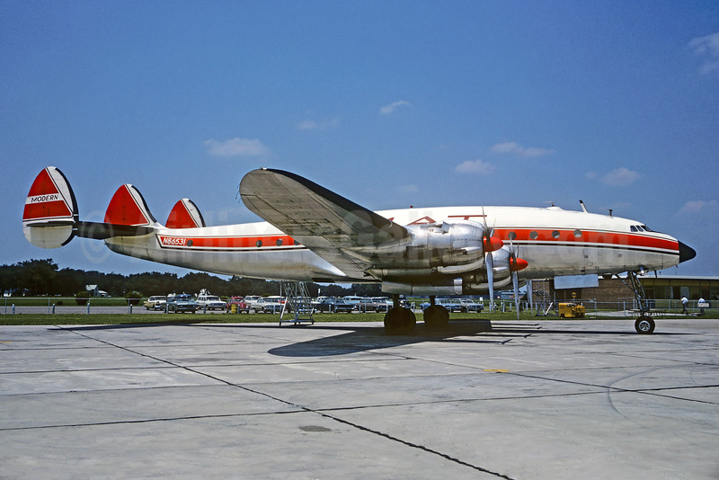 Modern Air Transport-MAT Lockheed 049D Constellation N86531 (msn 2068) FOE (Jacques Guillem Collection). Image: 927703.