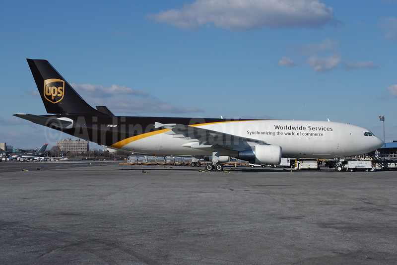 UPS Airlines (UPS-Worldwide Services) Airbus A300F4-622R N155UP (msn 841) JFK (Ken Petersen). Image: 913298.