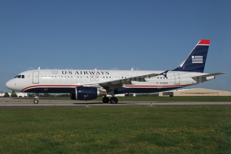US Airways Airbus A320-214 N113UW (msn 1141) CLT (Jay Selman). Image: 402331.