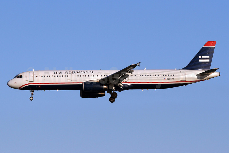 US Airways Airbus A321-231 N508AY (msn 3740) DCA (Brian McDonough). Image: 922414.