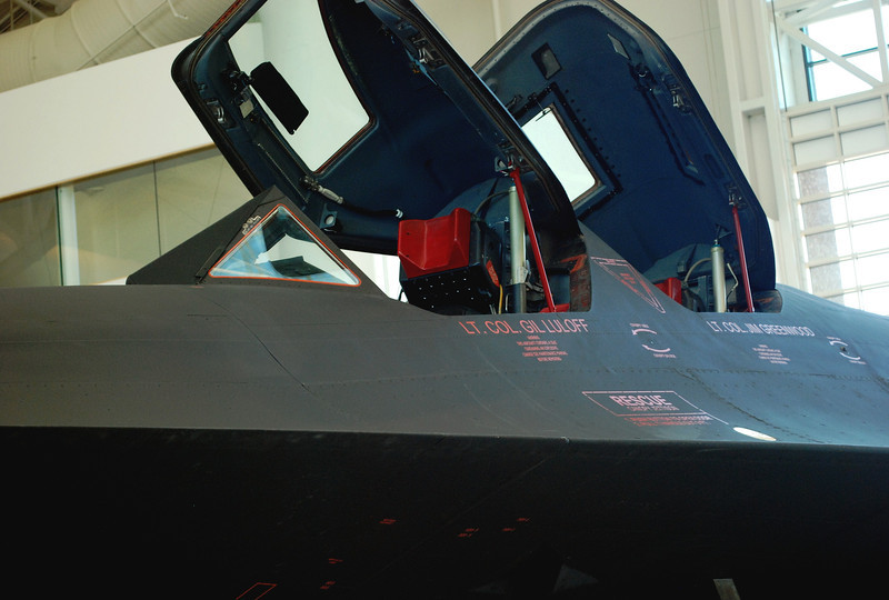 Lockheed SR-71A cockpit ft lf