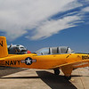 Beechcraft T-34B Mentor side rt
