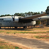 Fairchild C119C Flying Boxcar side lf