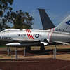 North American F-100C Super Sabre ft lf 3_4