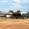 Fairchild C119C Flying Boxcar side rt