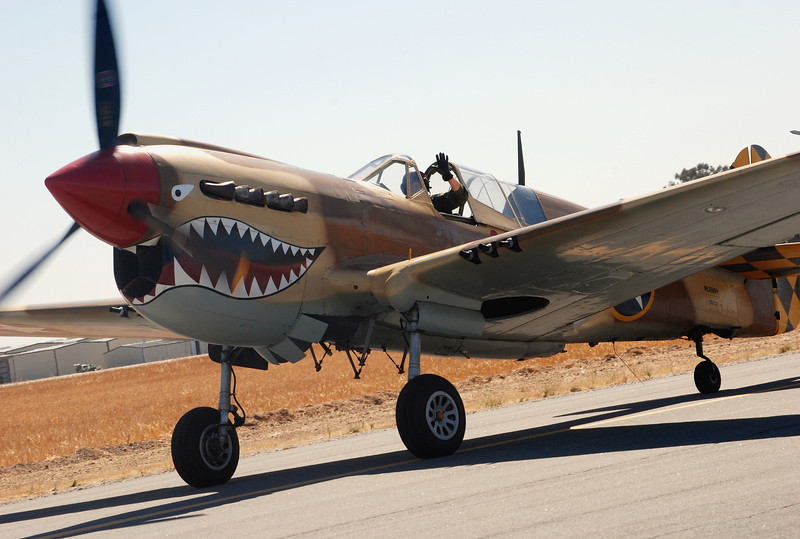 Curtiss P40N Warhawk ft lf