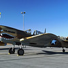 Curtiss P40N Warhawk side lf