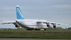 This evening parked on stand 8A...........Antonov Design Bureau An124-100, UR-82072 By Jim Calow.