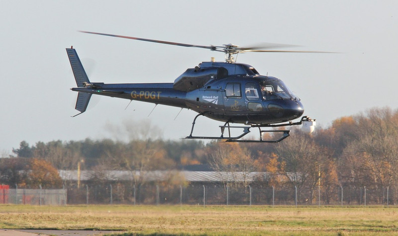 PDG Helicopters, AS355F2 Ecureuil II, G-PDGT (Network Rail) By Correne Calow.