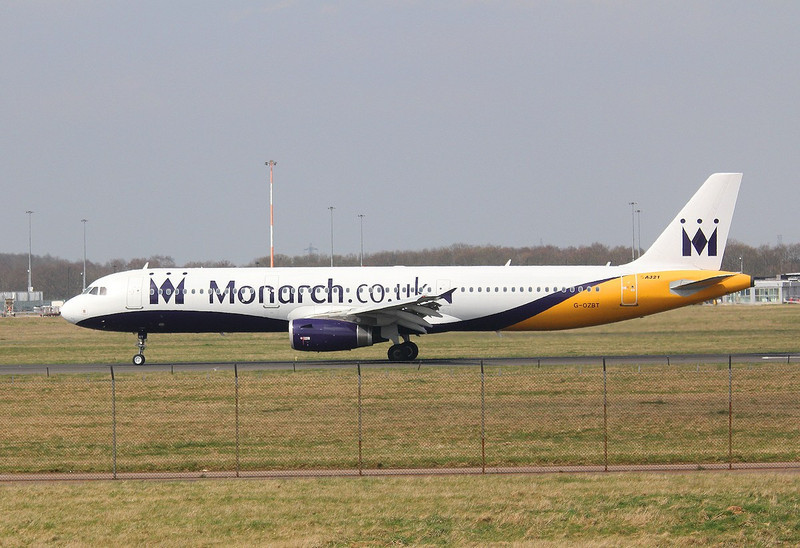 Monarch Airlines Airbus A321-231, G-OZBT By Correne Calow.