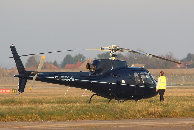 Patriot Aviation Ltd, Ecureuil AS350, G-SCHI By Correne Calow.