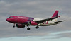 Wizz Air A320 HA-LWF.<br /> By Jim Calow.