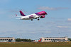 Wizz Air A320 HA-LYA.<br /> By Clive Featherstone.