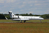 Gulfstream G550, B-8160.<br /> By Clive Featherstone.