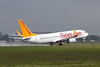 Pegasus Airlines 737-800, TC-CPC<br /> By Clive Featherstone.