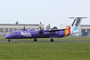 Flybe DHC-8-400, G-JECE.<br /> By Clive Featherstone.