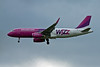 Wizz Air A320 HA-LYA.<br /> By David Bladen.