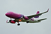 Wizz Air A320 HA-LWZ.<br /> By David Bladen.