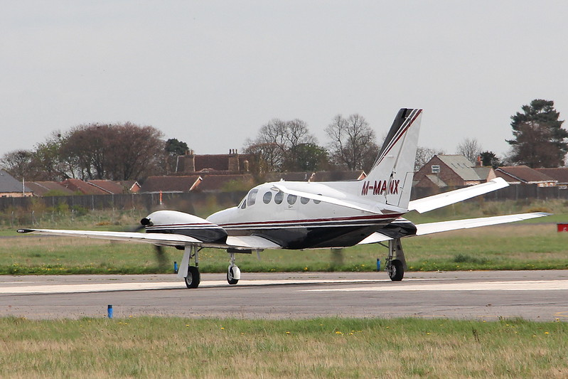 Mastercraft Ltd Cessna 425 Conquest 1, M-MANX By Clive Featherstone.