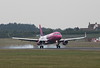 Wizz Air A320 HA-LYI.<br /> By Clive Featherstone.