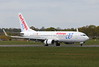 Air Europa, B738, EC-LVR<br /> By Clive Featherstone.