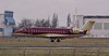 """Arriving mid afternoon from Liverpool was TAG Aviation, CL-600-2B19 Challenger 850, G-RADY. Onboard were """"Queen"""" who were appearing live in Sheffield later this evening.<br /> By Correne Calow."""