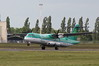 Aer Lingus (Stobart Air) ATR-72-600 EI-FAV departs for Dublin.<br /> By Clive Featherstone.