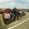 Anitra's G650GS and my R1200GS at the FHC at Paine FIeld WA. If you like history and aircraft, this is a must visit museum.