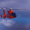 US Coast Guard's HH-65 Dauphin Helicopter.