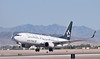 N26210   United Boeing 737 in Star Alliance livery  McCarran International Airport Las Vegas,