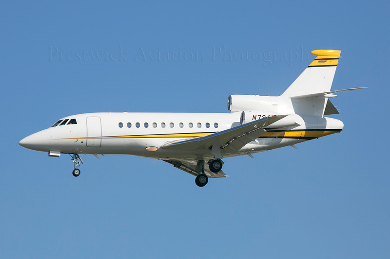 N794SE. Dassault Falcon 900EX..Private. Los Angeles. 110213.
