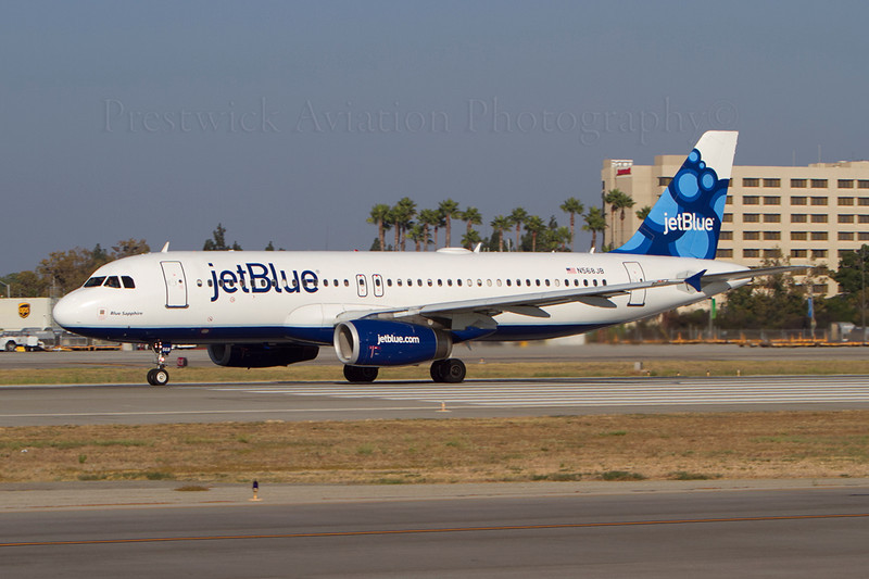 N568JB. Airbus A320-232. JetBlue Airways. Long Beach. 210911.