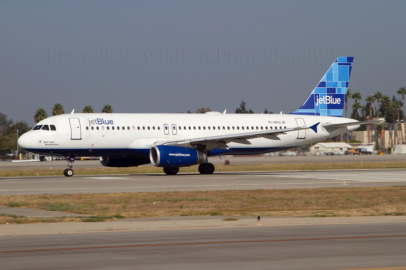 N612JB. Airbus A320-232. JetBlue Airways. Long Beach. 210911.