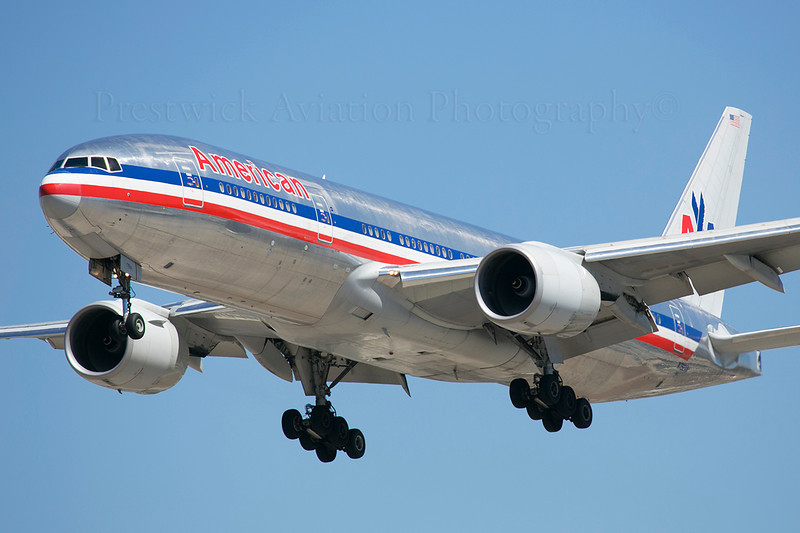 N792AN. Boeing 777-223/ER. American Airlines. Los Angeles.220913