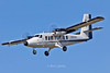 N515AR Twin Otter landing at Liverpool