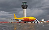 D-AEAI DHL A300 just out of the Air Livery paint shop.