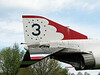 Closeup of tail section of F-4....