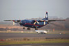 UR-CZZ. Antonov AN-12BP. Ukraine Air Alliance. Prestwick. 120314.