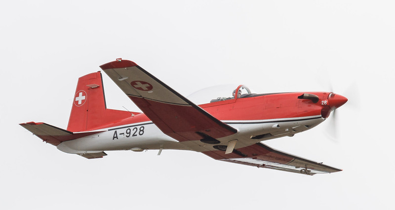 Pilatus PC-7 Turbo Trainer Swiss Air Force PC-7 Team - Hechtel [Eksel, Belgium]