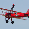Third Strike Wingwalking with Carol Pilon at Thunder in the Valley II
